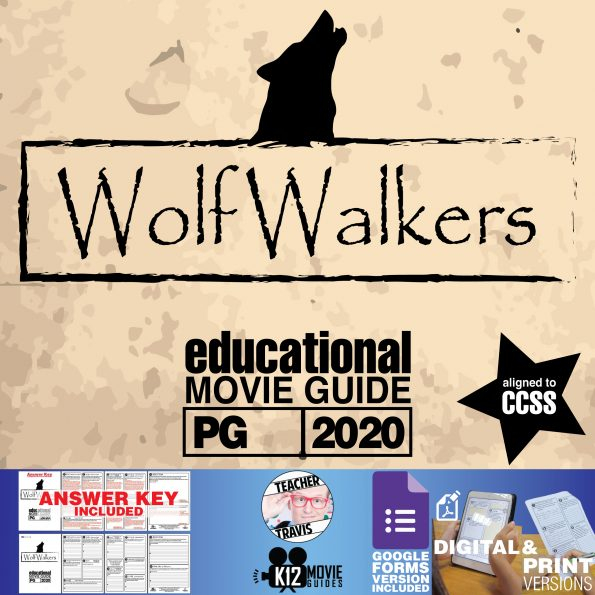 Wolfwalkers Movie Guide | Worksheet | Questions | Google Form (PG - 2020) | Cover