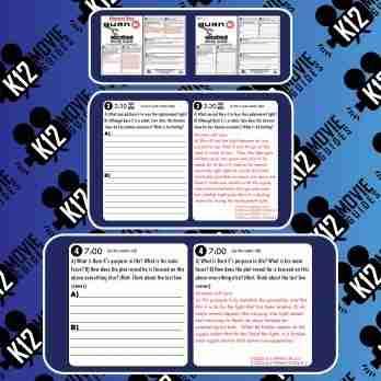 Burn-E Pixar Short Video Guide | Questions | Worksheet | Google Form (2008) Sample