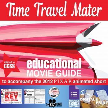 Time Travel Mater Pixar Short Video Guide | Questions | Worksheet (2012) Cover