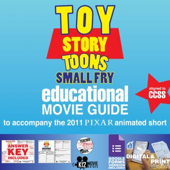 Toy Story Toons: Small Fry Pixar Short Video Guide | Questions | Worksheet | Google Form (2011) Cover