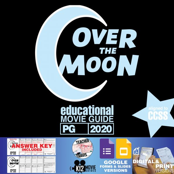 Over the Moon Movie Guide | Worksheet | Questions | Google Classroom (PG - 2020) Cover