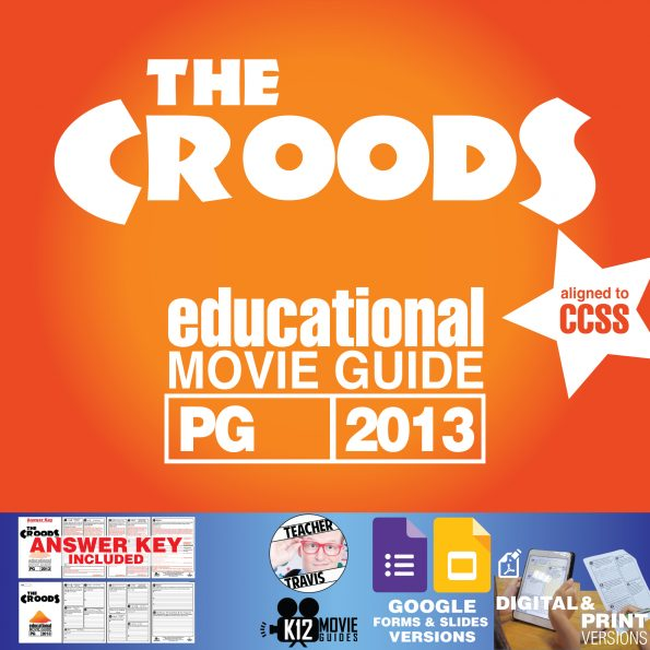 The Croods Guide | Worksheet | Questions | Google Classroom (PG - 2013) Cover