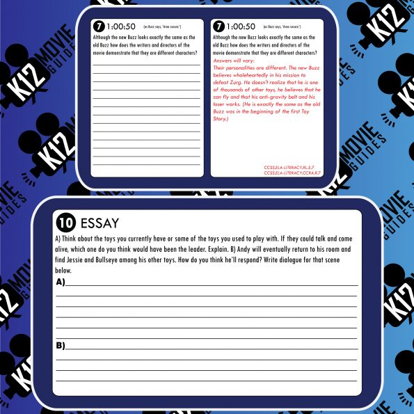 Toy Story 2 Movie Guide | Worksheet | Questions | Google (G - 1999) Sample