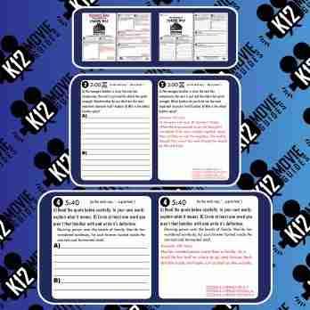 The Legend of Mor'du Pixar Short Video Guide   Worksheet   Questions (2012) Sample
