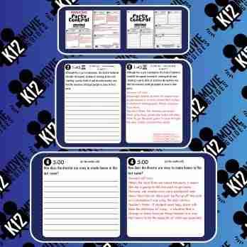 Party Central Pixar Short Video Guide   Questions   Worksheet (PG - 2014) Sample