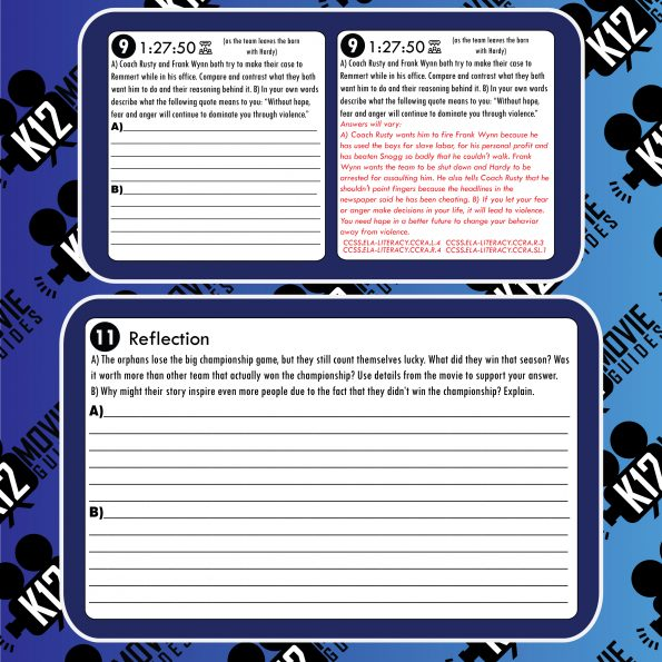 12 Mighty Orphans Movie Guide   Worksheet   Questions   Google (PG13 - 2021) Sample