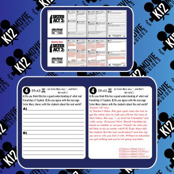 Sister Act 2: Back in the Habit Movie Guide   Worksheet   Questions (PG - 1993) Sample